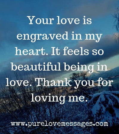 Sweet Thank You Message for My Girlfriend - Pure Love Messages